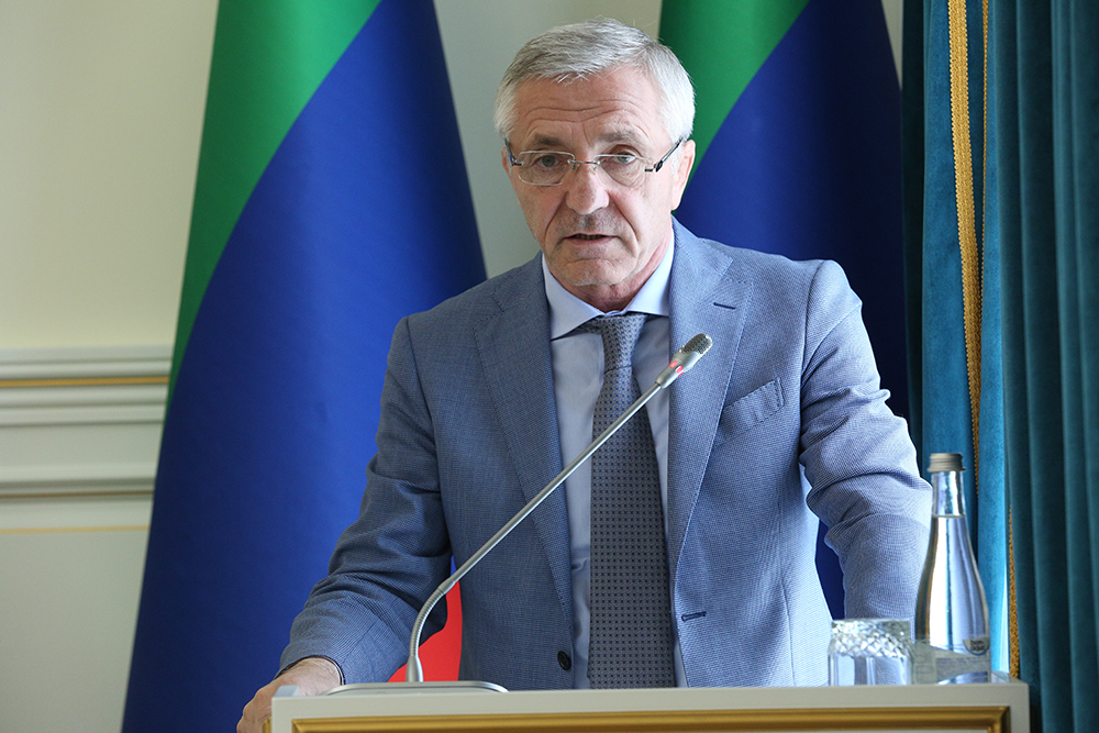 Министр науки и образования Республики Дагестан Шахабас Шахов
