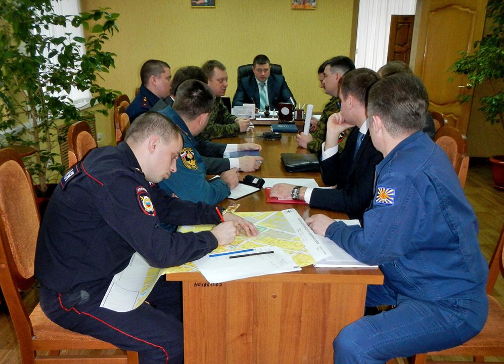 Работа оперативной группы в г. Мичуринске