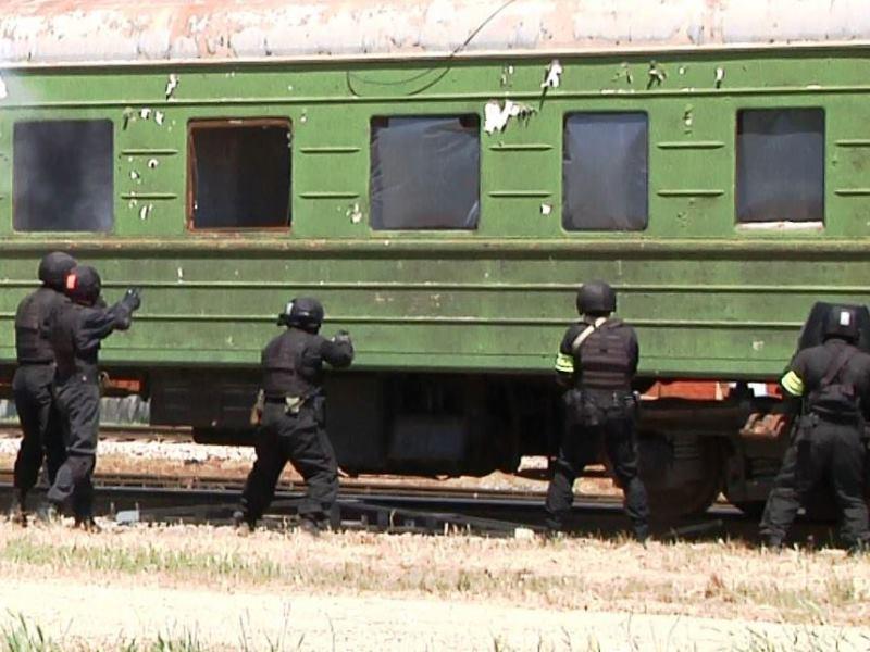Тактико-специальное учение «Сигнал-2015» в Чеченской Республике. 19 мая 2015 года