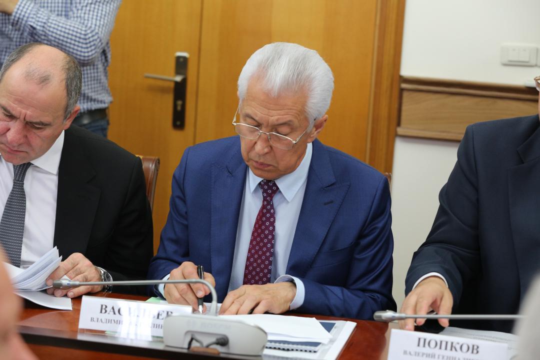 В Махачкале прошло выездное заседание  Национального антитеррористического комитета