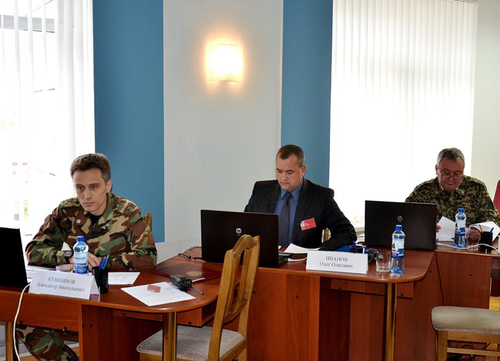 Работа членов оперативного штаба в Тамбовской области на автоматизированных рабочих местах
