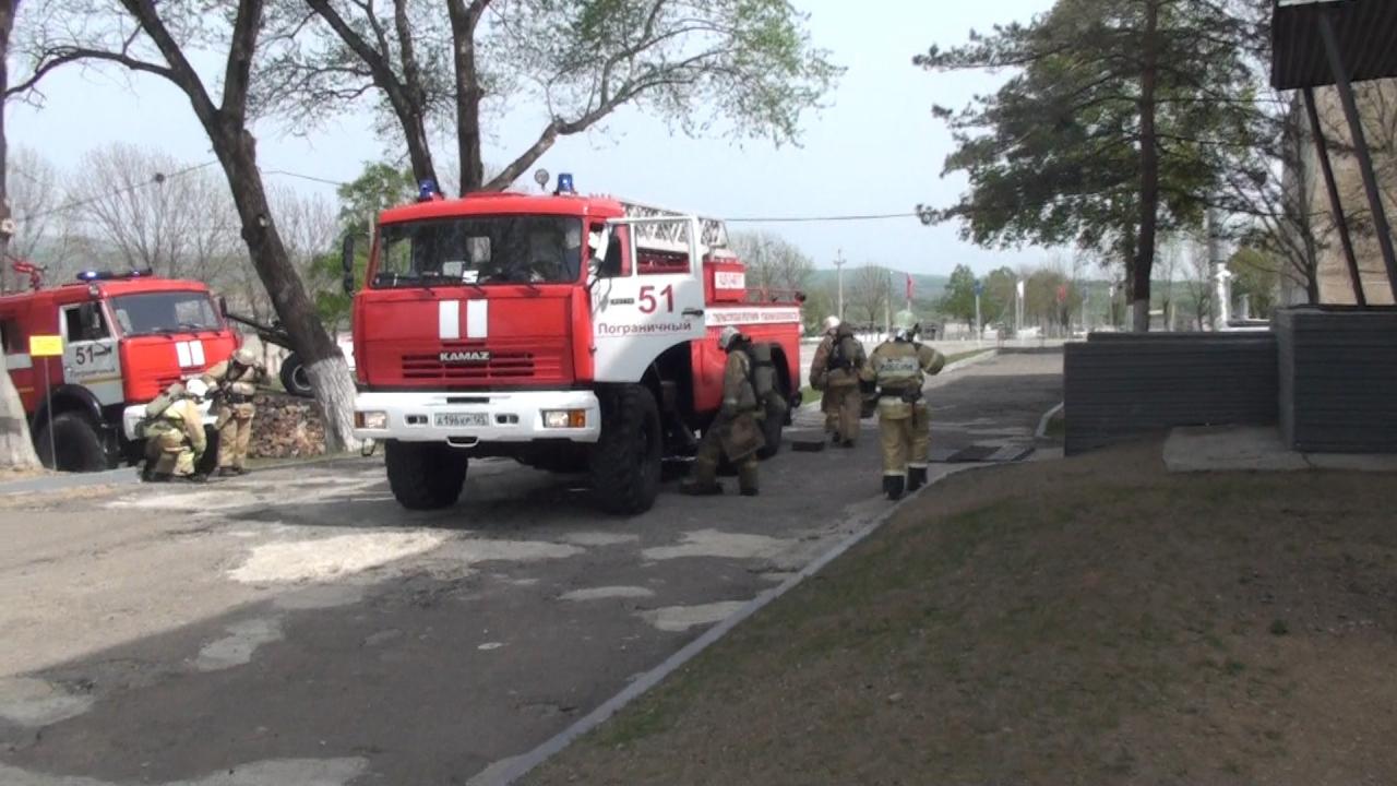Оперативным штабом в Приморском крае проведено учение
