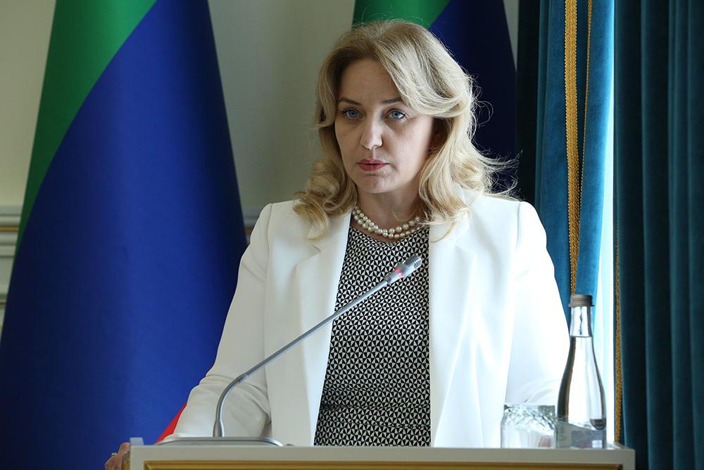 Министр культуры Республики Дагестан Зарема Бутаева