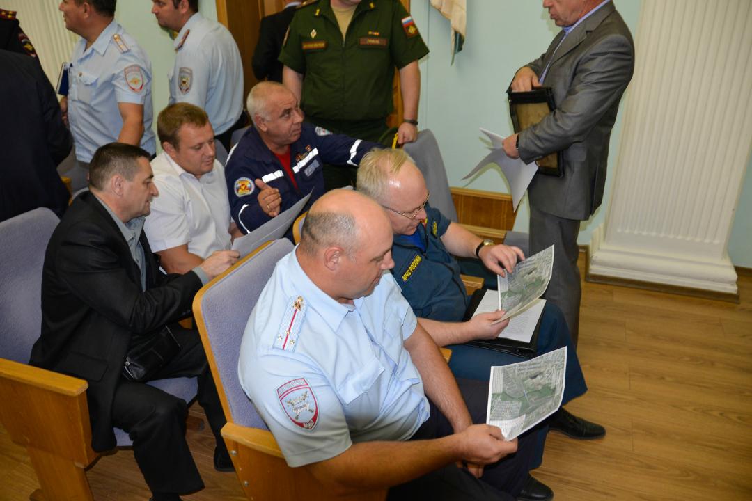 Оперативным штабом в Ульяновской области на объекте железнодорожного транспорта проведено командно-штабное учение