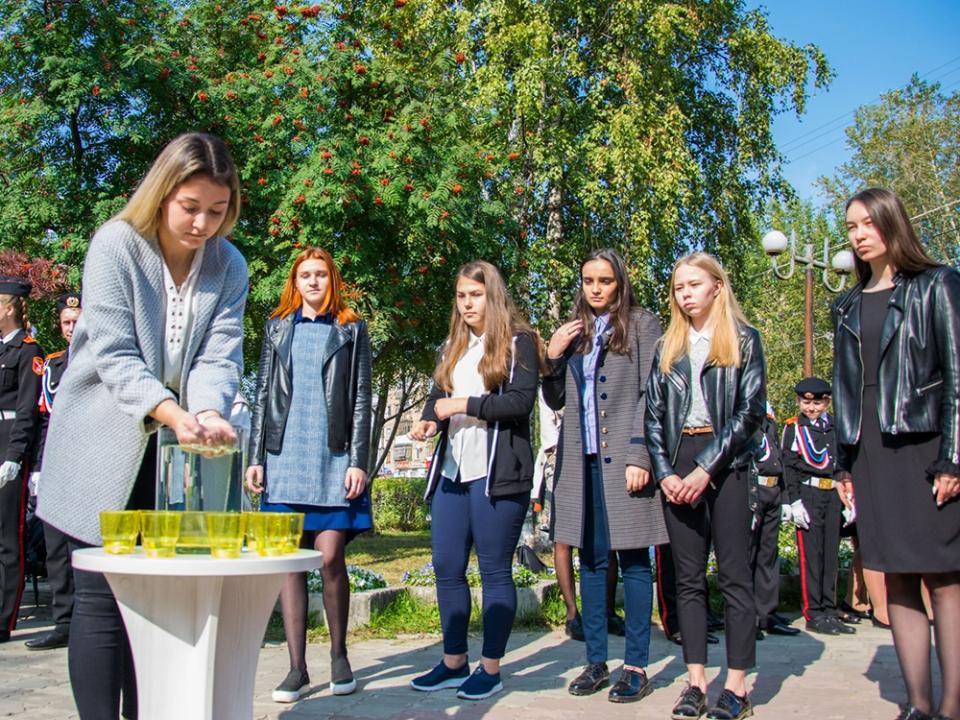 Ухтинские школьники вспомнили жертв мирового террора