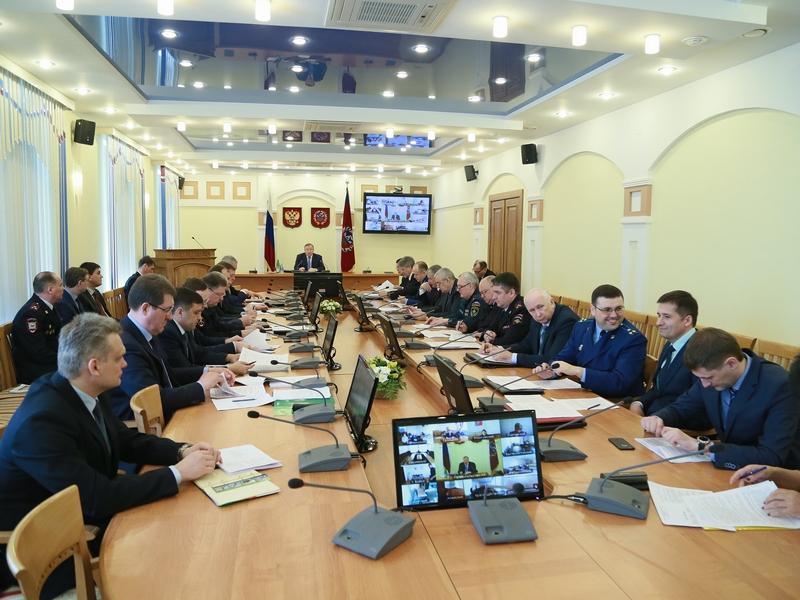 Открытие заседания антитеррористической комиссии Алтайского края