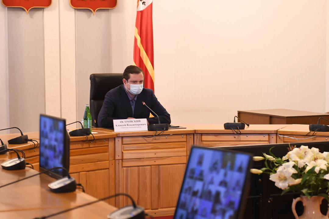 Председатель Антитеррористической комиссии - Губернатор Смоленской области  Островский Алексей Владимирович
