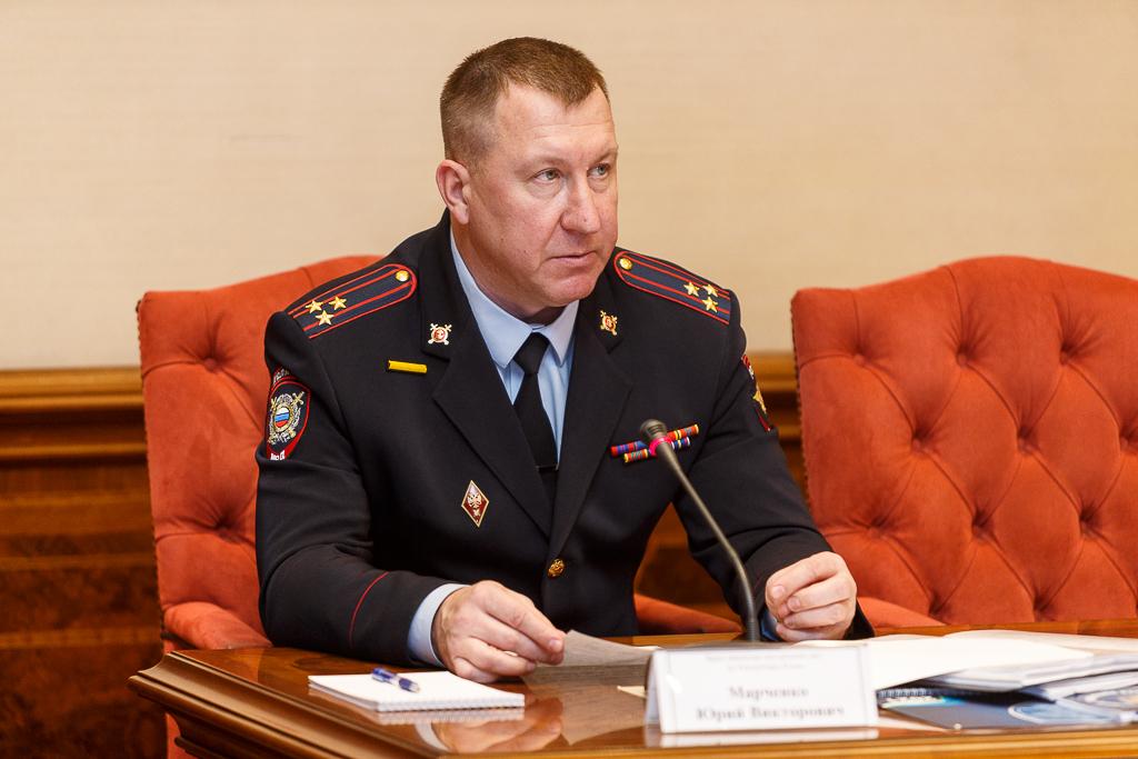 Выступление врио министра внутренних дел по Республике Коми Марченко Ю.В. по вопросу