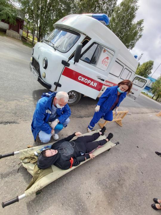 В Койгородском районе прошла командно-штабная тренировка