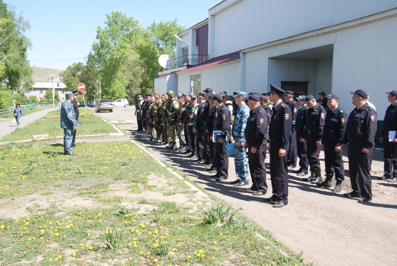Оперативным штабом в Республике Хакасия проведено учение по пресечению террористического акта