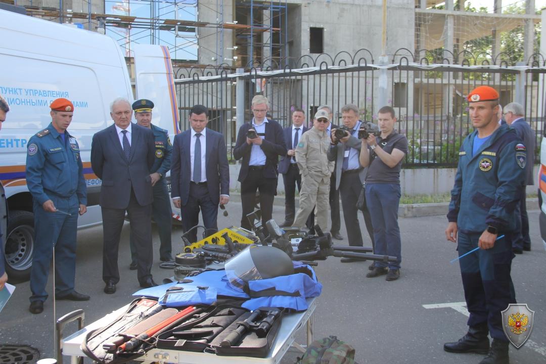 В Ярославле прошло совместное антитеррористическое учение компетентных органов государств - членов Шанхайской организации сотрудничества
