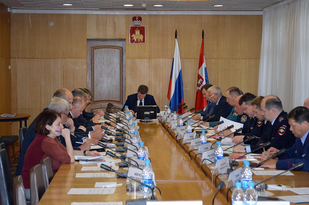 В Перми состоялось заседание антитеррористической комиссии