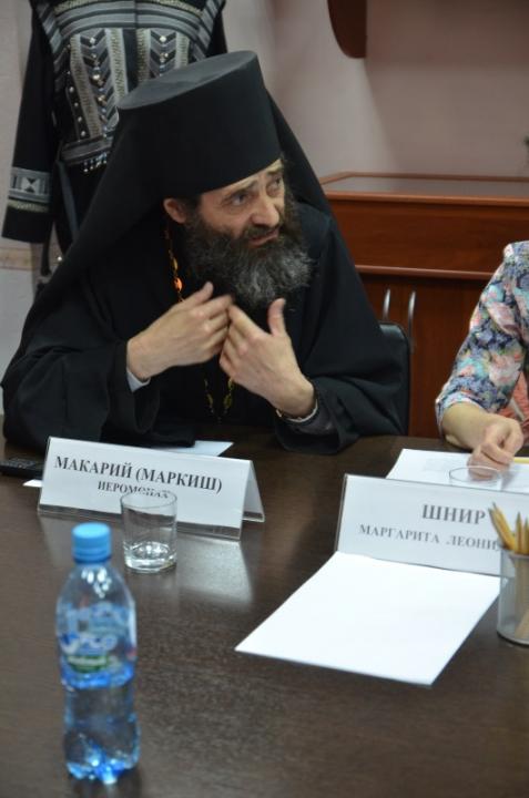 Выступление руководителя по взаимоотношению церкви с обществом и СМИ Иваново-Вознесенской епархии – Иеромонаха Макария (Маркиш)