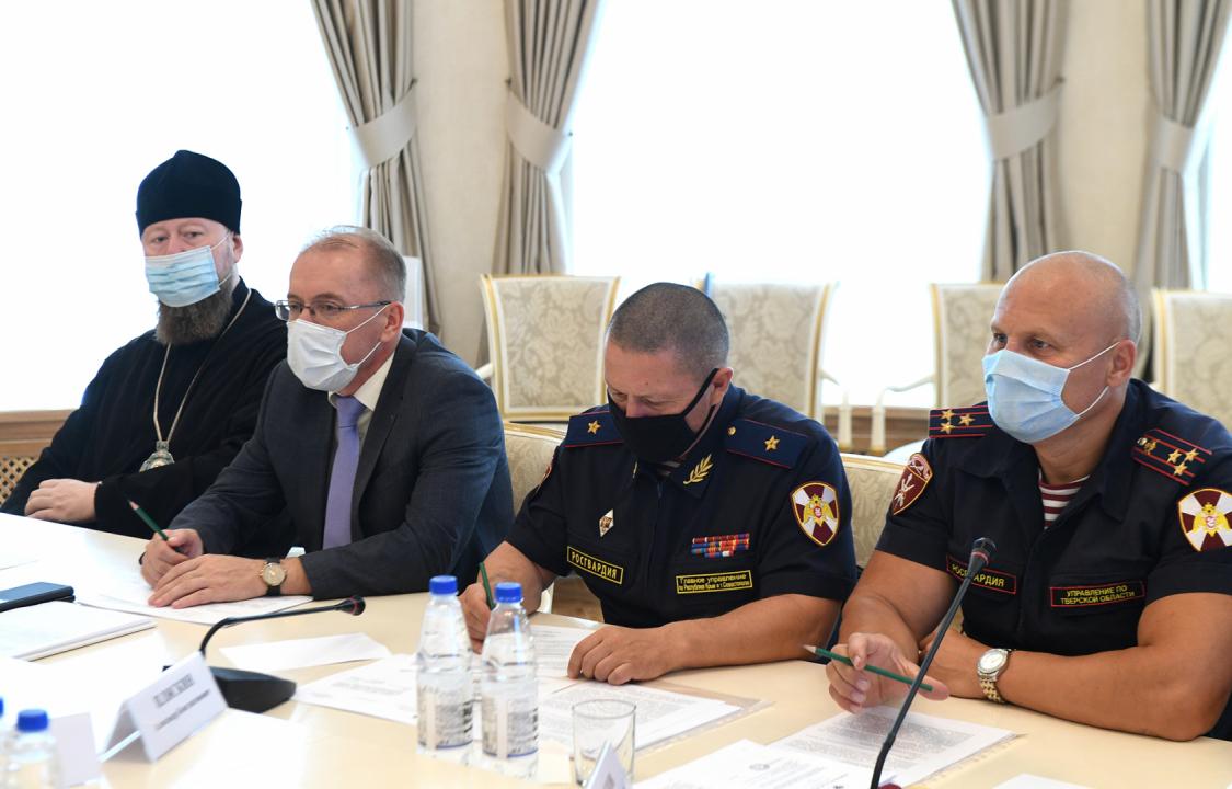 Прошло заседание Антитеррористической комиссии Тверской области