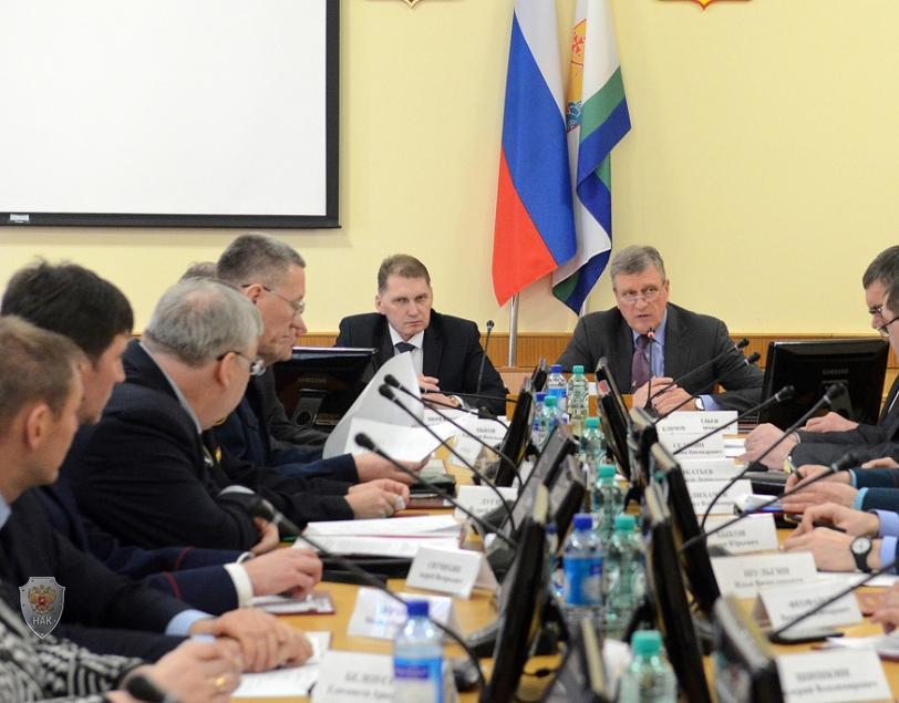 Прошло совместное заседание  областной Антитеррористической комиссии и Оперативного штаба  в Кировской области