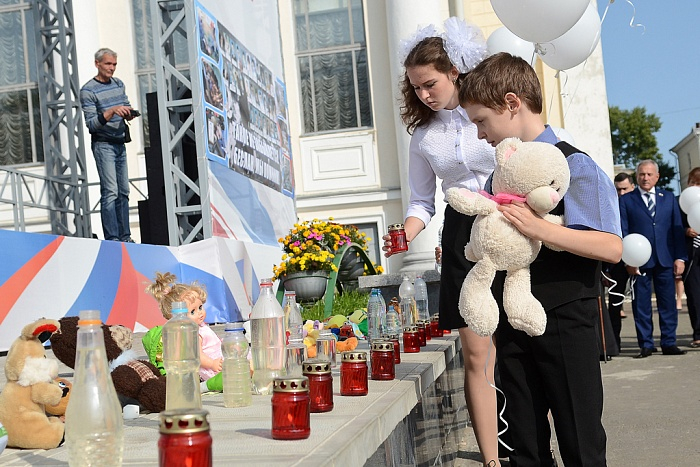 3 сентября в городе Кирове состоялось мероприятие, посвященное Дню солидарности в борьбе с терроризмом