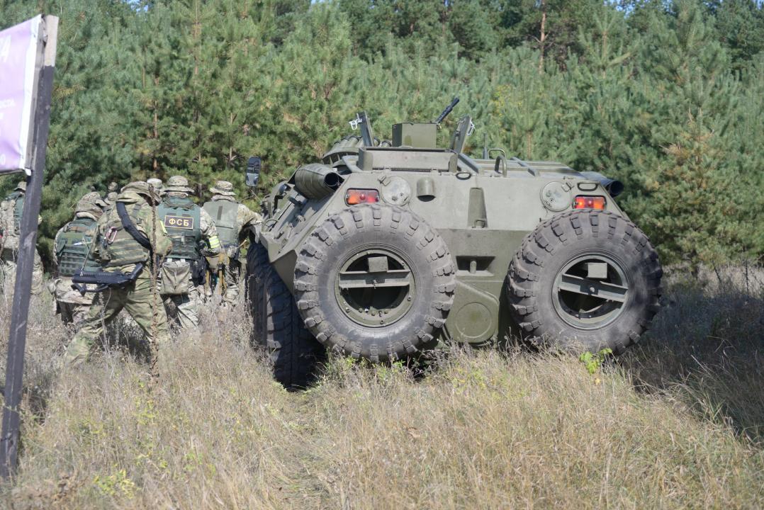 Оперативным штабом  в Воронежской области проведено плановое тактико-специальное учение силовых структур региона по нейтрализации террористической угрозы