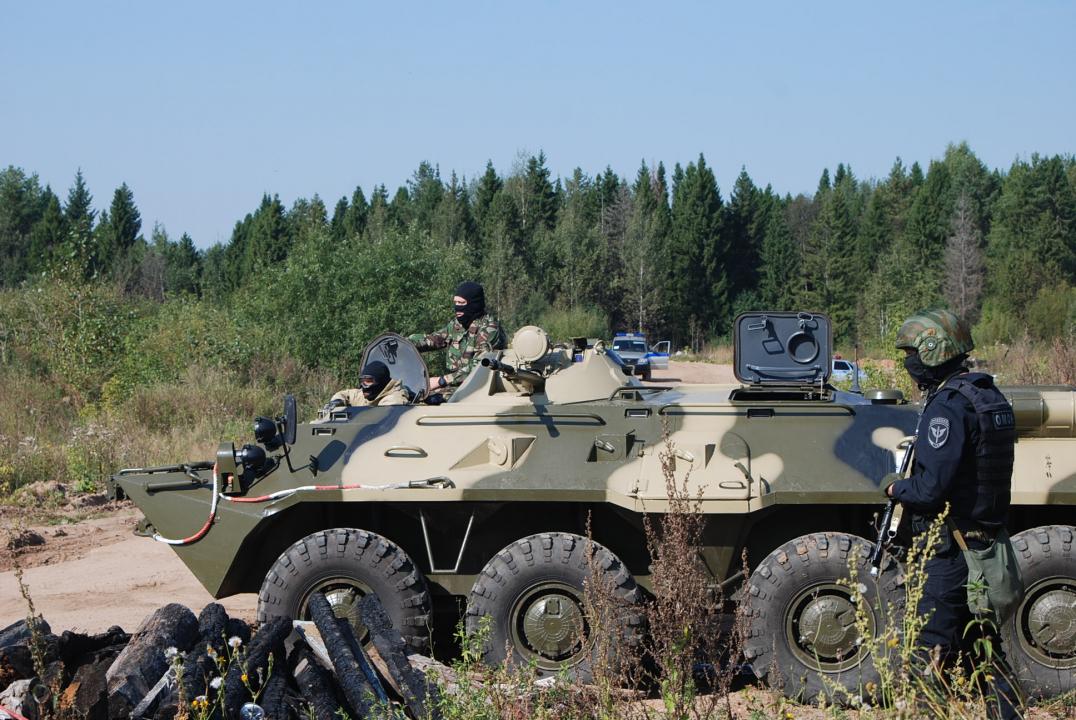 Оперативным штабом Кировской области  проведено плановое антитеррористическое тактико-специальное учение  «Технология-2018»