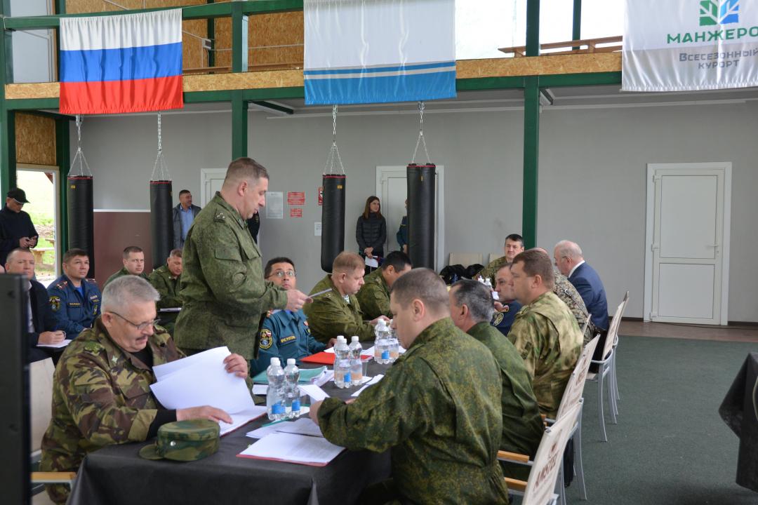 В Республике Алтай состоялось командно-штабное учение