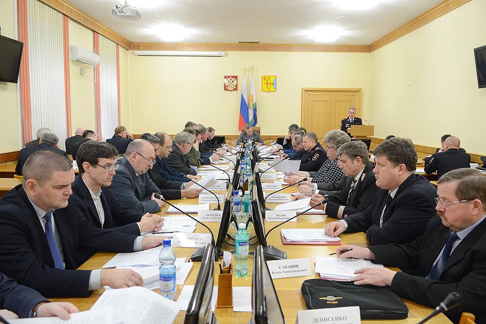 Заседание антитеррористической комиссии в Кировской области