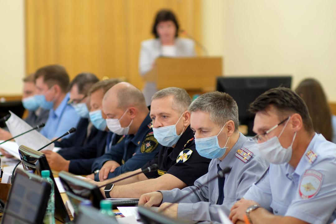 Проведено заседание  антитеррористической комиссии  в Кировской области