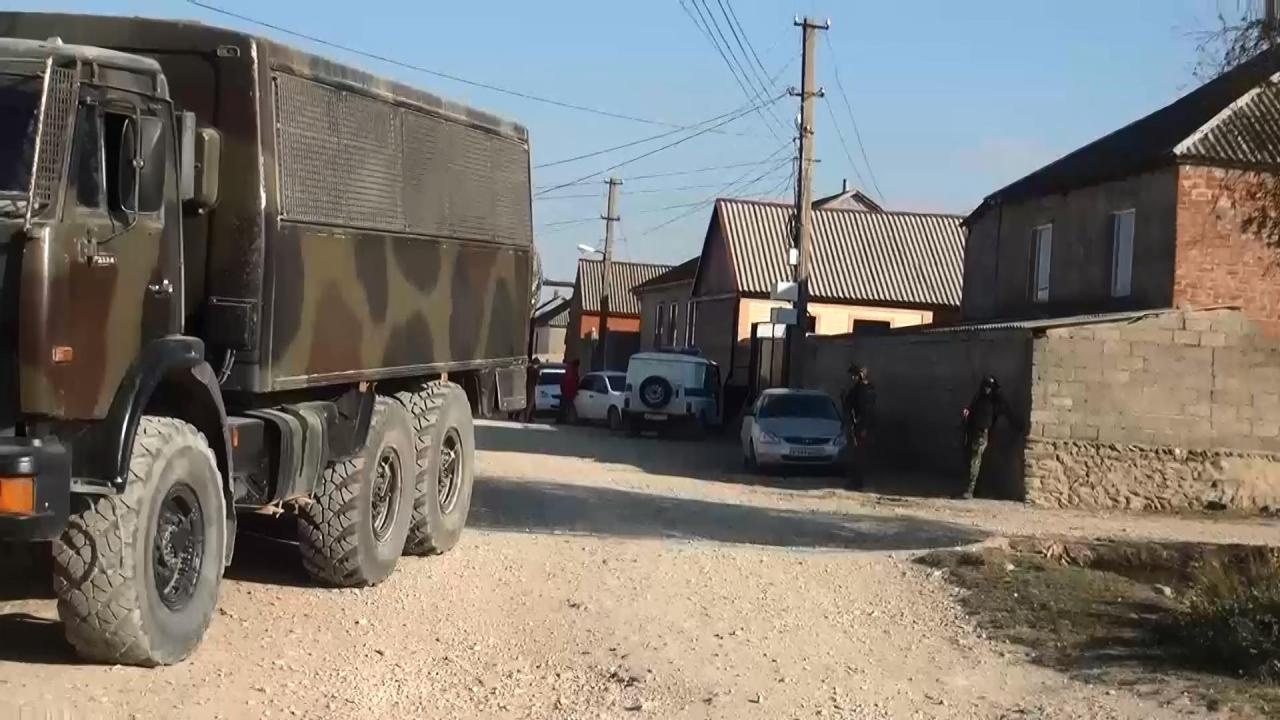 В Хасавюртовском районе Дагестана в ходе КТО нейтрализованы двое бандитов