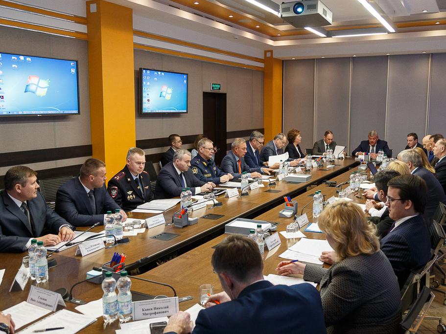 Выездное совместное заседание Антитеррористической комиссии в Республике Коми и оперативного штаба в Республике Коми 16 мая 2018 года