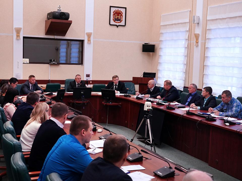В правительстве Калининградской области обсудили вопросы обеспечения безопасности и профилактики терроризма