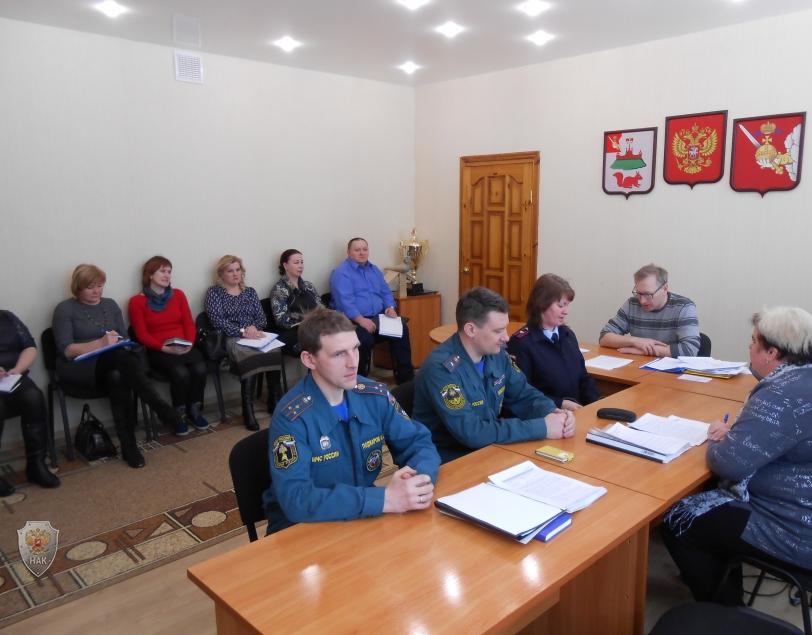 Заседание антитеррористической комиссии Кичменгско-Городецкого района