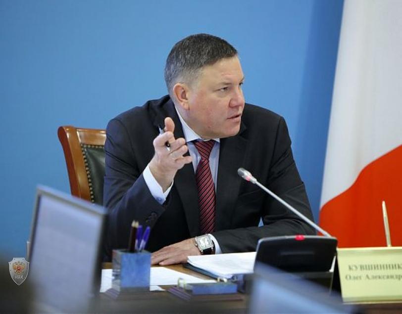 Председатель АТК в области - губернатор Вологодской области О.А. Кувшинников