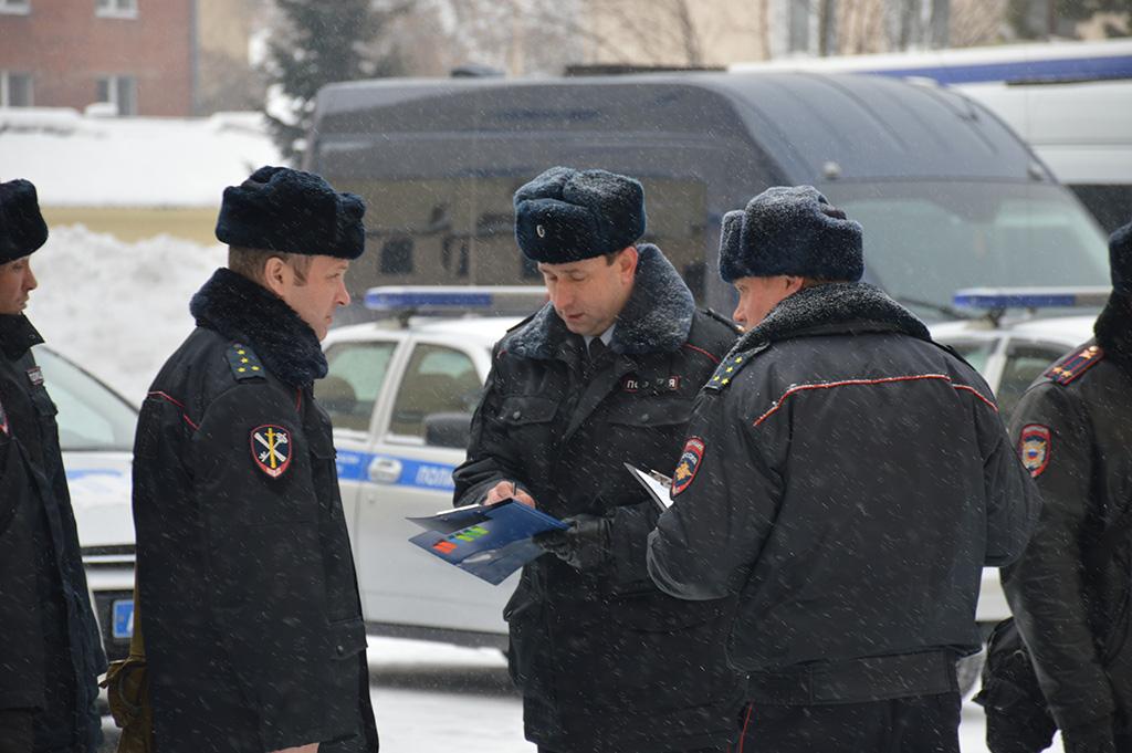 Работа группы контроля ГУ МВД России по Кемеровской области