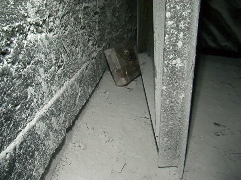 Муляж СВУ, обнаруженный в шахте