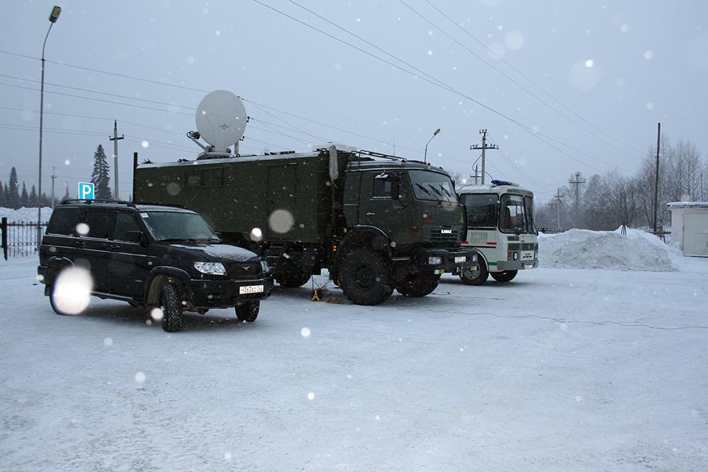 Антитеррористические учения. Кемеровская область.