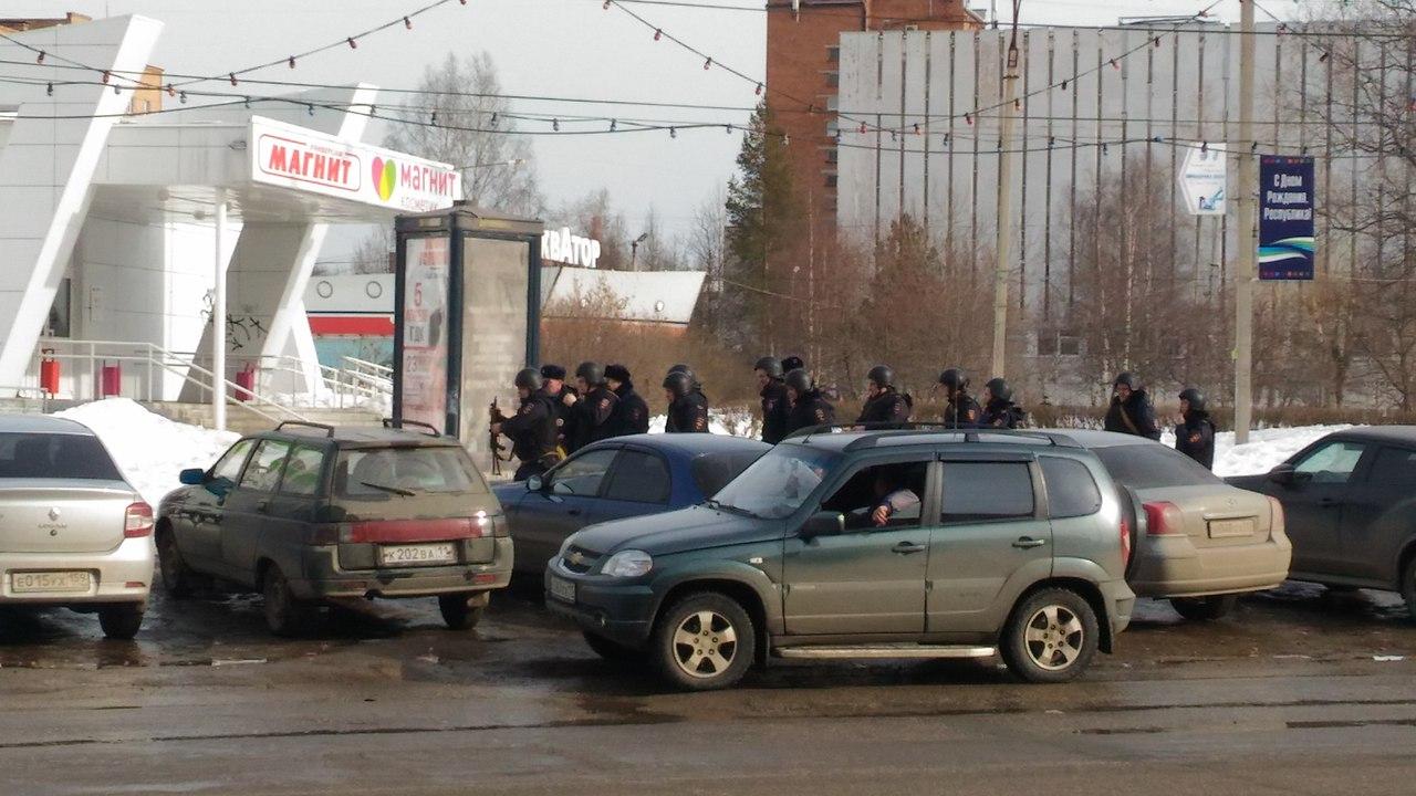 """В ухтинском Доме быта """"захватили"""" заложников"""