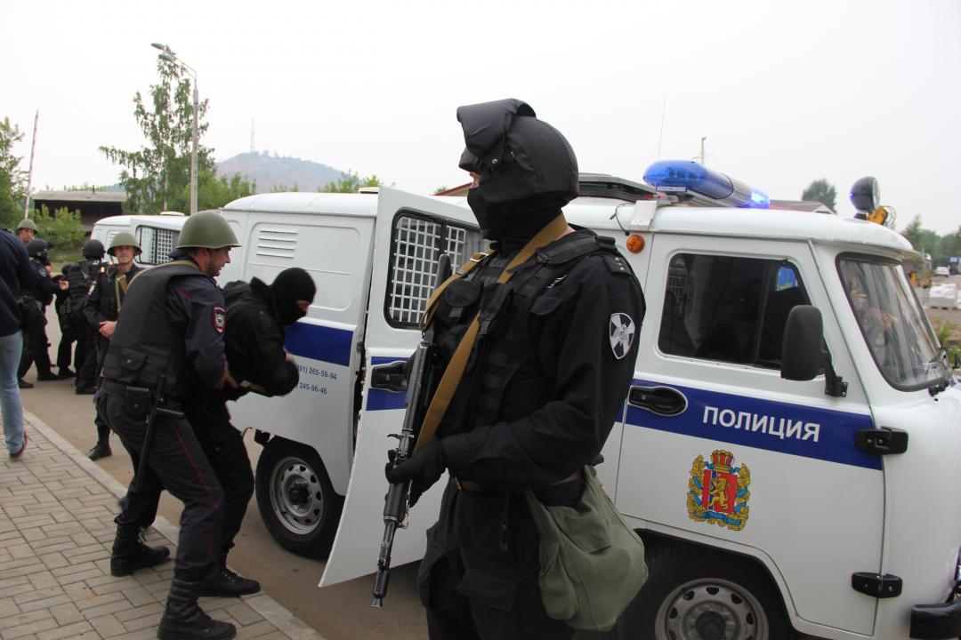 В Красноярском крае проведено антитеррористическое учение