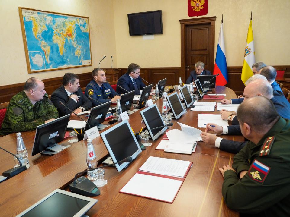 Антитеррористическую защищённость Ставрополья обсудили с членами Совбеза и НАК