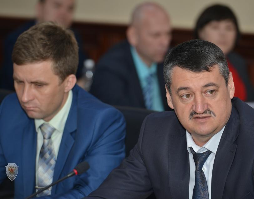 Начальник УФСБ России по Республике Алтай  А.П. Веселев.
