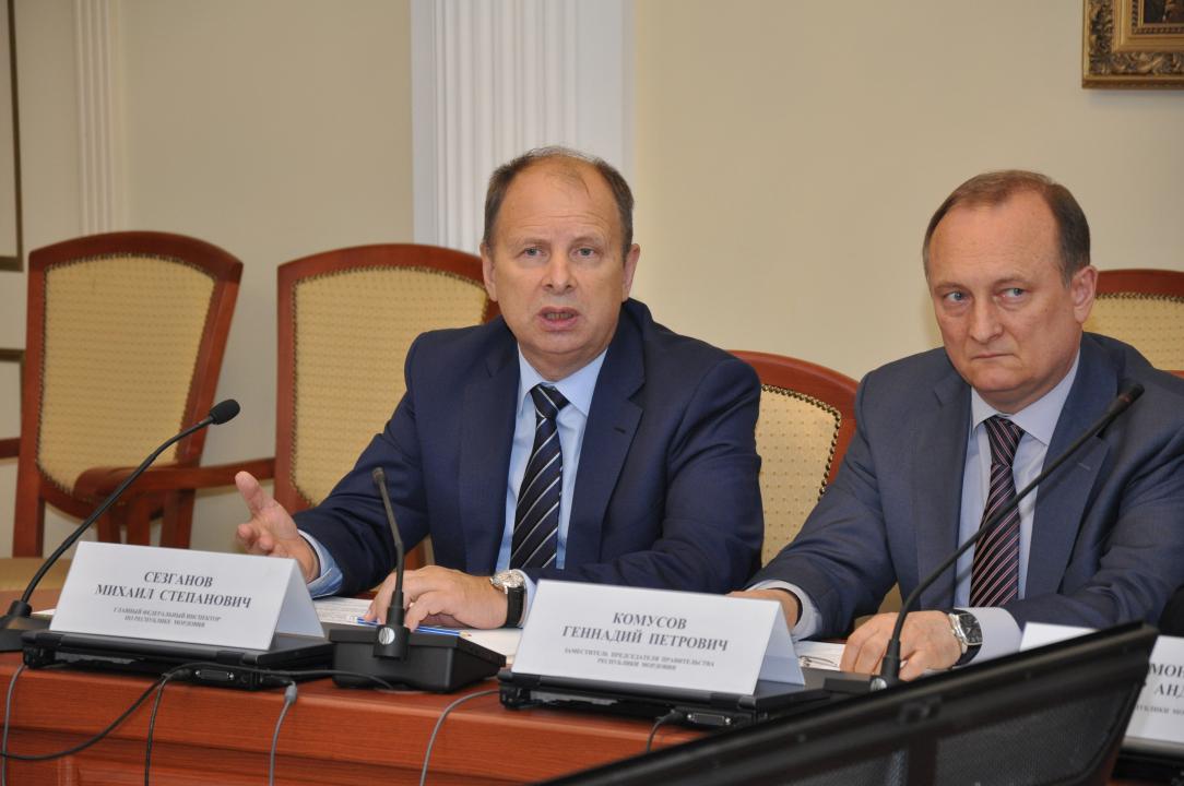 Главный федеральный инспектор по Республике Мордовия Сезганов М.С.