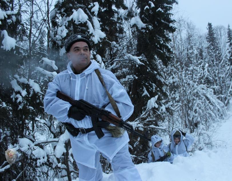 На территории Усть-Цилемского района Республики Коми прошла межмуниципальная военно-спортивная тактическая игра «По волчьему следу»