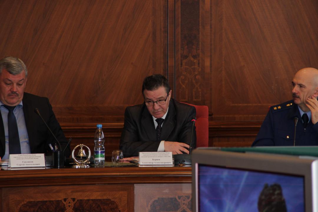 Обсуждение вопроса об утверждении Регламента организации мониторинга общегосударственной системы противодействия терроризму в Республике Коми