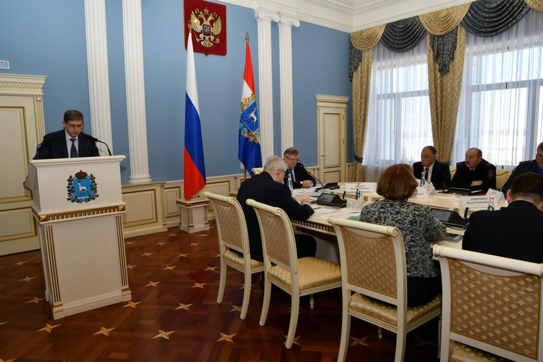 Выступление первого заместителя руководителя Администрации Губернатора Самарской области Кузнецова В.А.