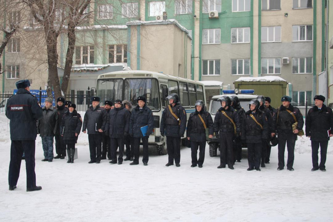 Силы и средства Кузбасского ЛУ МВД России