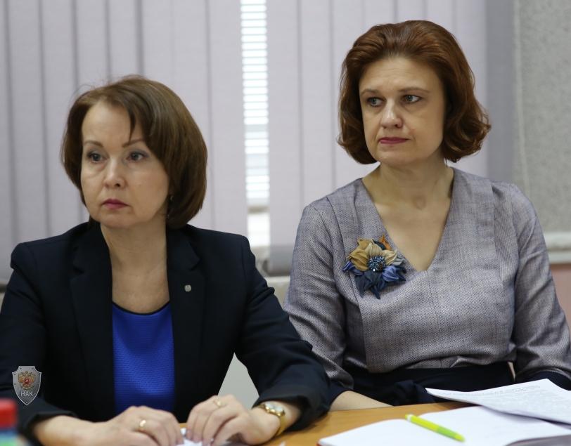 Участники совместного заседания антитеррористической комиссии и оперативного штаба в Удмуртской Республике