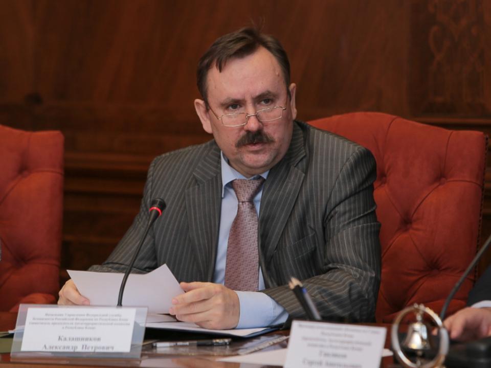 Заседание Антитеррористической комиссии в Республике Коми