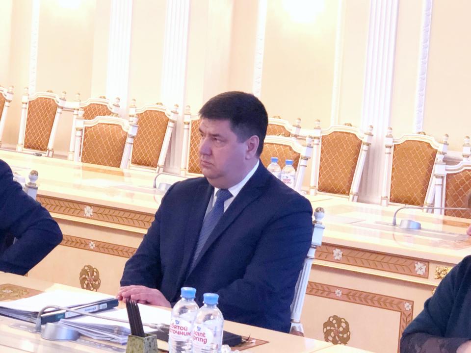 Александр Маркелов - исполняющий обязанности директора департамента по взаимодействию с федеральными органами государственной власти и мировой юстиции Ямало-Ненецкого автономного округа