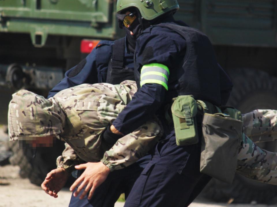 В Тульской области проведено антитеррористическое учение