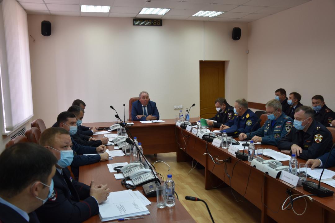 Оперативным штабом в Республике Башкортостан проведено командно-штабное