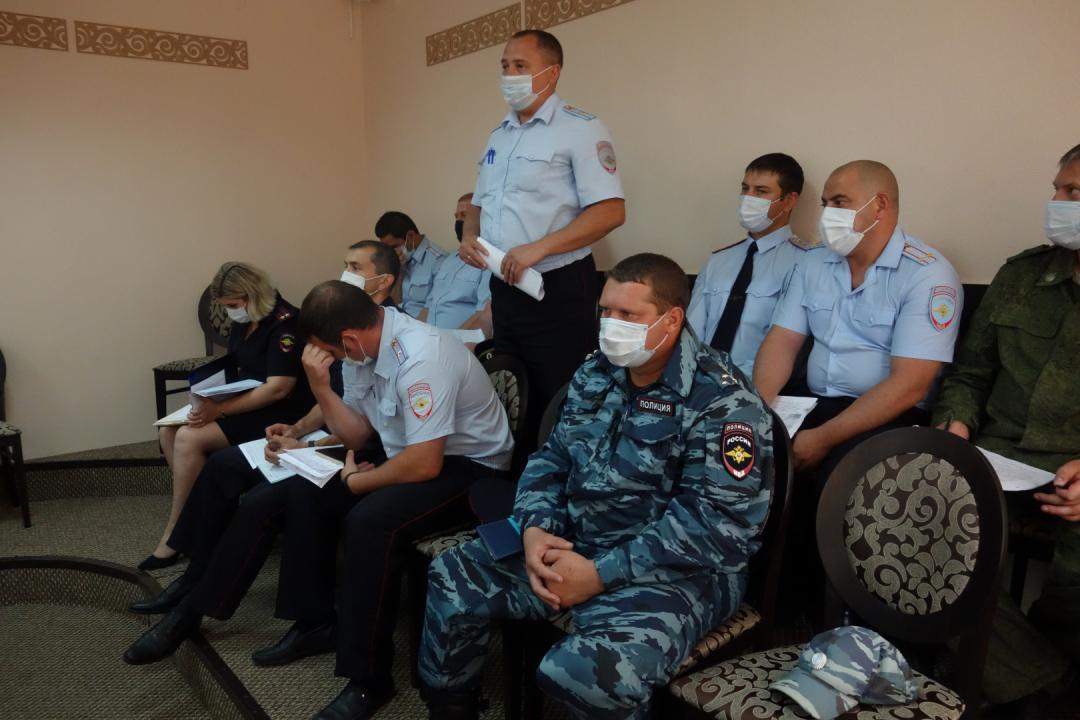 В Липецкой области проведено командно-штабное учение (КШУ) «Экран-2020»