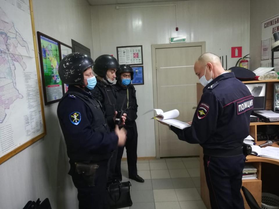 Оперативным штабом в Астраханской области проведено тактико-специальное учение  «Рельеф- 2020»