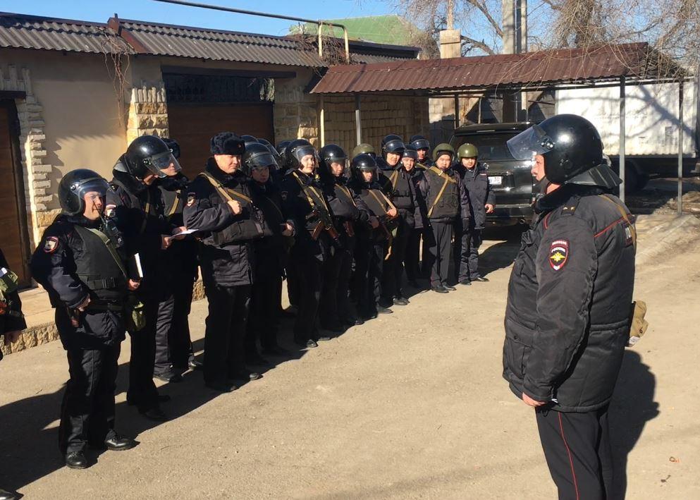 Оперативным штабом области проведены  командно-штабные учения